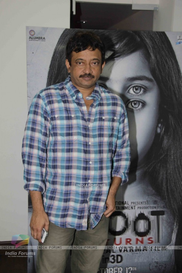 Ram Gopal Varma at Bhoot Returns 3d Preview