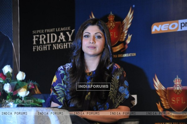Shilpa Shetty At Sfl Press Meet