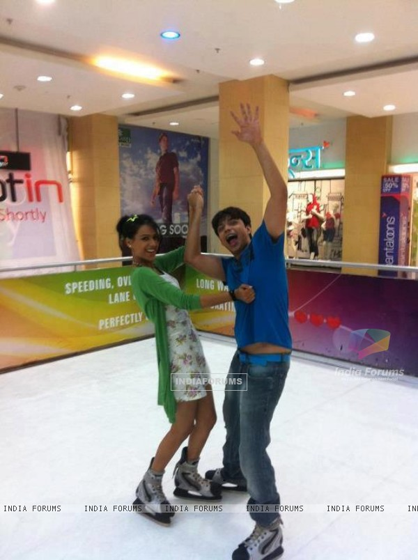 Nia sharma and gaurav
