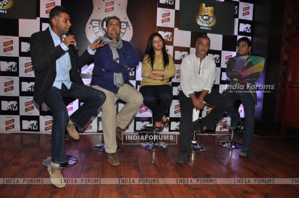 Mega music MTV unplugged with AR Rahman