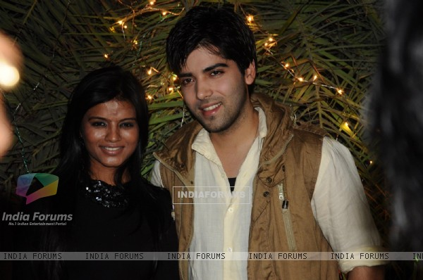 Mitali Nag and Kinshuk Mahajan at 200 episodes completion of show Afsar Bitiya