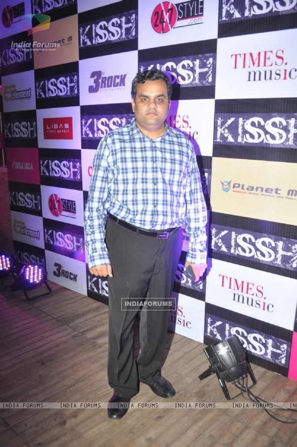 Anirudh Dhoot Director Videocon Industries Ltd during the launch of his debate music album LADY at ky Lounge in Juhu in Mumbai.