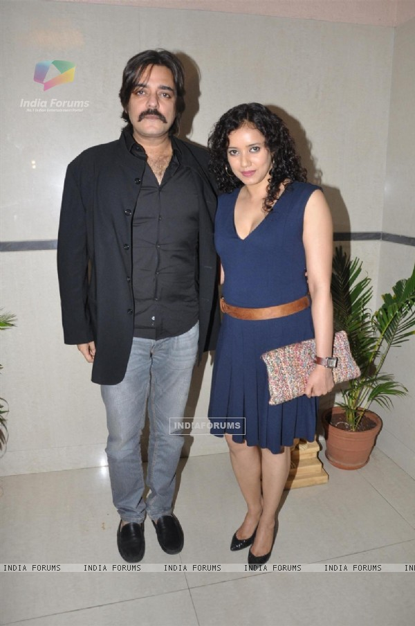 Bollywood actors Chandrachur Singh and Shreya Narayan at film Prem Mayee press meet at Hotel Four Seasons in Juhu, Mumbai.