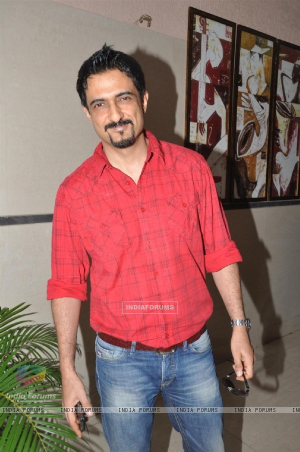 Bollywood actor Sanjay Suri during the film Prem Mayee press meet at Hotel Four Seasons in Juhu, Mumbai.
