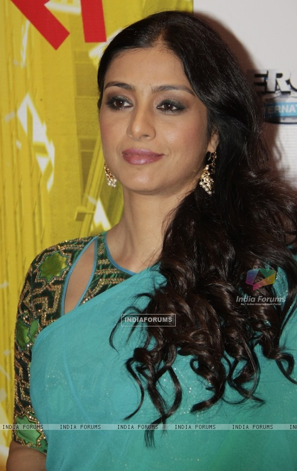 Bollywood actress Tabu at Red carpet of English Vinglish in Mumbai (Photo: IANS/Sanjay)
