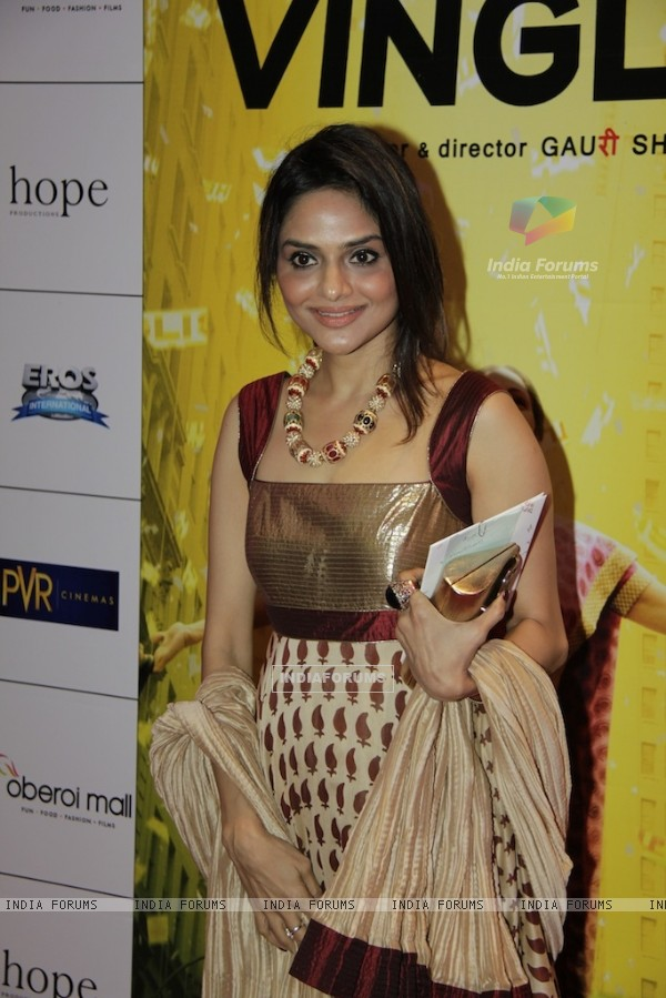 Bollywood actress Madhoo shah at Red carpet of English Vinglish in Mumbai (Photo: IANS/Sanjay)