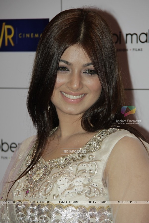 Bollywood actress Ayesha Takia at Red carpet of English Vinglish in Mumbai (Photo: IANS/Sanjay)