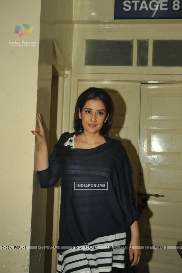 Bollywood actress Manisha Koirala at film BHOOT Returns press conference at Mehboob Studios in Bandra, Mumbai.