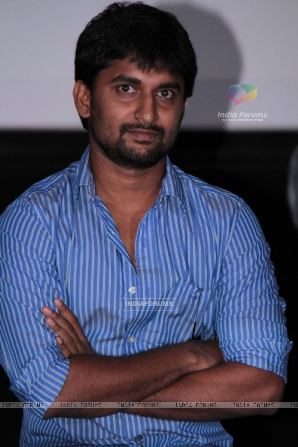 South actor Nani at film Makkhi press conference at PVR Cinemas in Juhu, Mumbai.