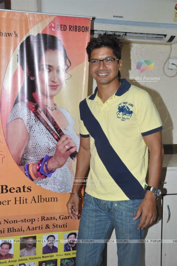 Singer Shaan at the Launch of Garba album 'Aye Halo' in Hotel Orritel West in Mumbai.