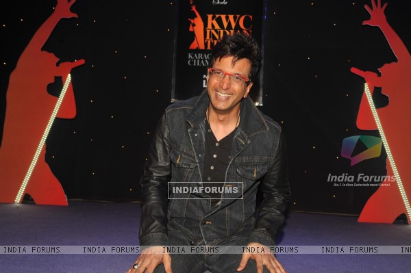 Bollywood actor Jaaved Jaaferi at The Indian Grand Finale Of The McDowell's No.1 Karaoke World Championship at Phoenix Mills in Mumbai.