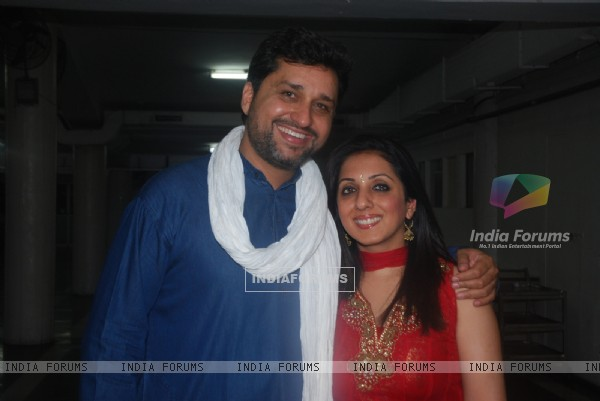 Gautam Chaturvedi and Munisha Khatwani at Musical Concert organized by actor Gautam Chaturvedi