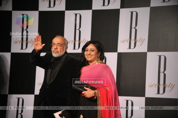 Amitabh Bachchan's 70th Birthday Party at Reliance Media Works in Filmcity