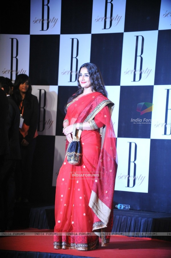 Vidya Balan at Amitabh Bachchan's 70th Birthday Party at Reliance Media Works in Filmcity