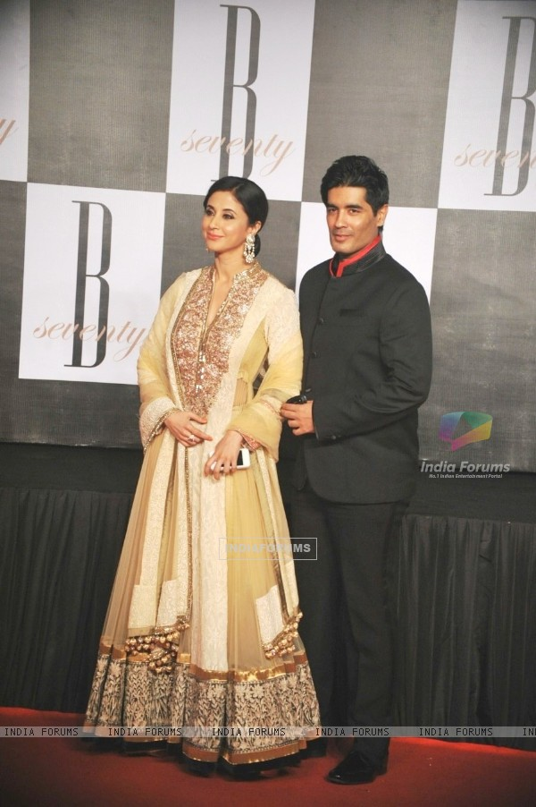 Urmila Matondkar with Manish Malhotra at Amitabh Bachchan's 70th Birthday Party