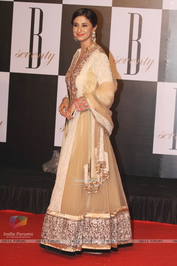 Urmila Matondkar at Amitabh Bachchan's 70th Birthday Party at Reliance Media Works in Filmcity