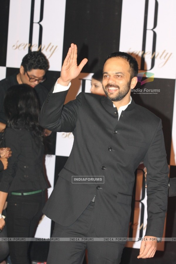 Rohit Shetty at Amitabh Bachchan's 70th Birthday Party at Reliance Media Works in Filmcity