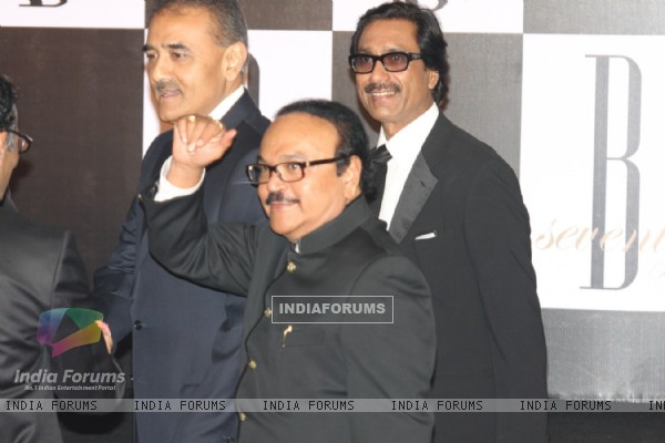 Amar Singh at Amitabh Bachchan's 70th Birthday Party at Reliance Media Works in Filmcity