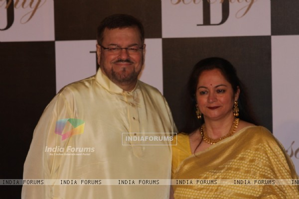 Nitin Mukesh at Amitabh Bachchan's 70th Birthday Party at Reliance Media Works in Filmcity