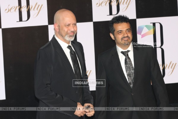 Ehsaan Noorani and Loy Mendonsa at Amitabh Bachchan's 70th Birthday Party