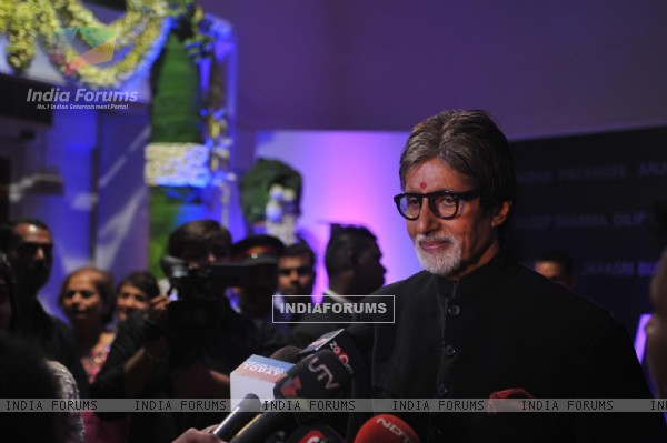 An unique art show to celebrate the 70th Birthday of Amitabh Bachchan