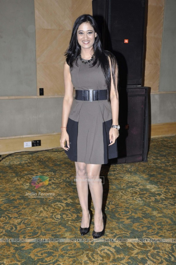 Television actress Shweta Tiwari at daughter Palak birthday bash at Sea Princess in Mumbai.