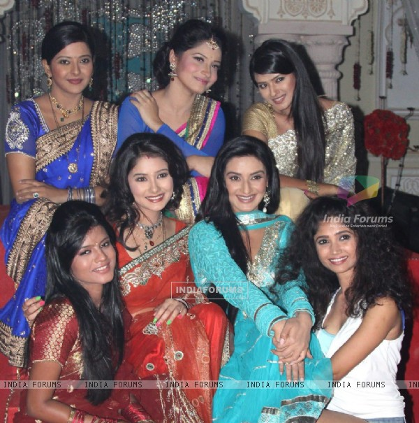 Zee TV Actresses on Zee TV 20 years celeberations