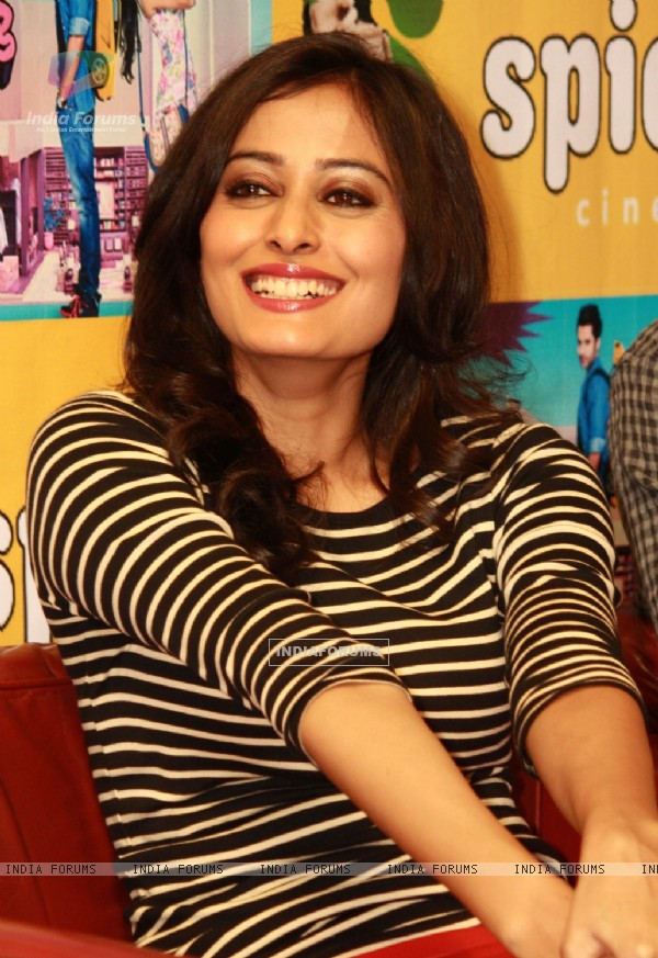 Nidhi Subbaiah at the press conference for film ''Ajab Gazabb Love'',at Spice Mall,in Noida (Photo:IANS/Amlan)