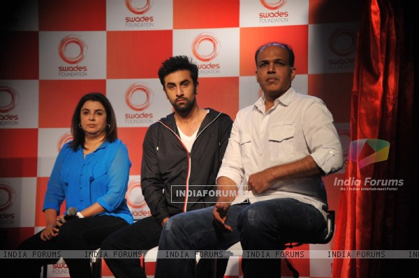 Ranbir Kapoor unveiled and supported for Swades Foundation