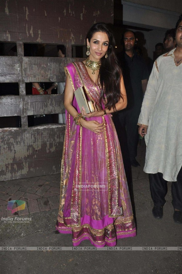 Malaika Arora Khan at Saif Ali Khan and Kareena Kapoor Sangeet Ceremony