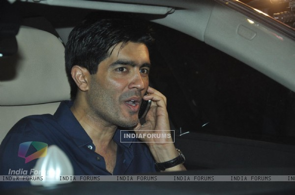 Manish Malhotra at Saif Ali Khan and Kareena Kapoor Sangeet Party