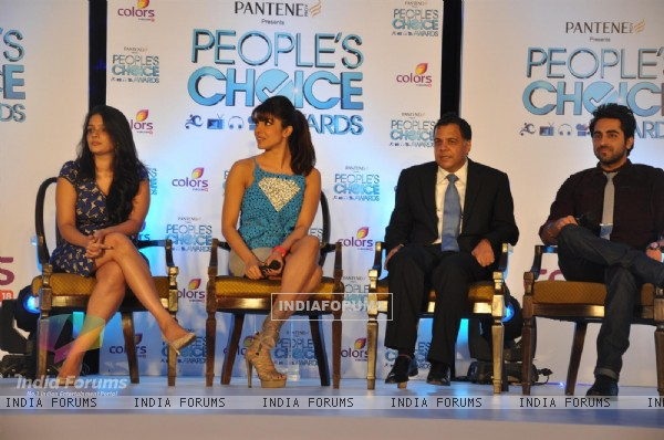 Priyanka Chopra, Ayushmann Khurrana Launches Peoples Choice Awards