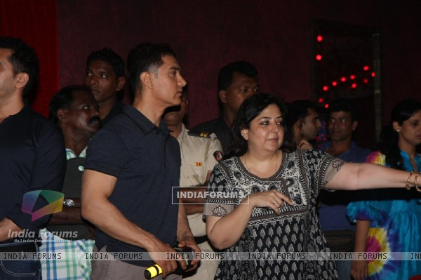 Aamir Khan at Talaash Music Launch