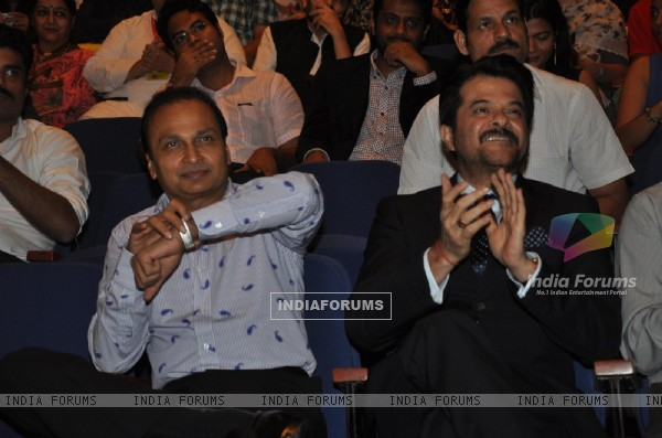 Anil Ambani and Anil Kapoor at Opening ceremony of 14th Mumbai Film Festival