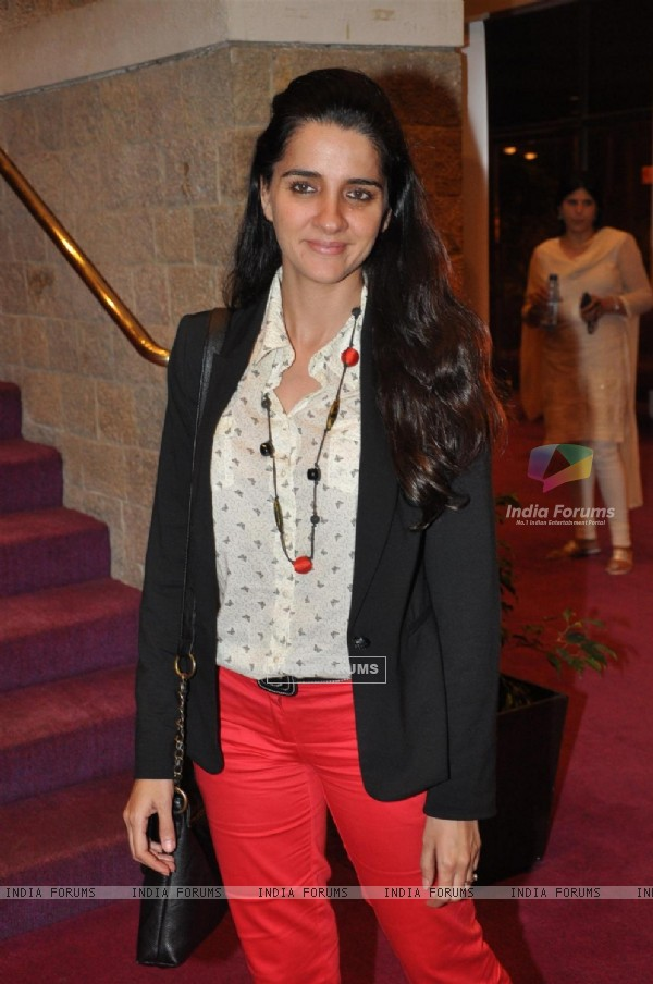Shruti Seth at Opening ceremony of 14th Mumbai Film Festival