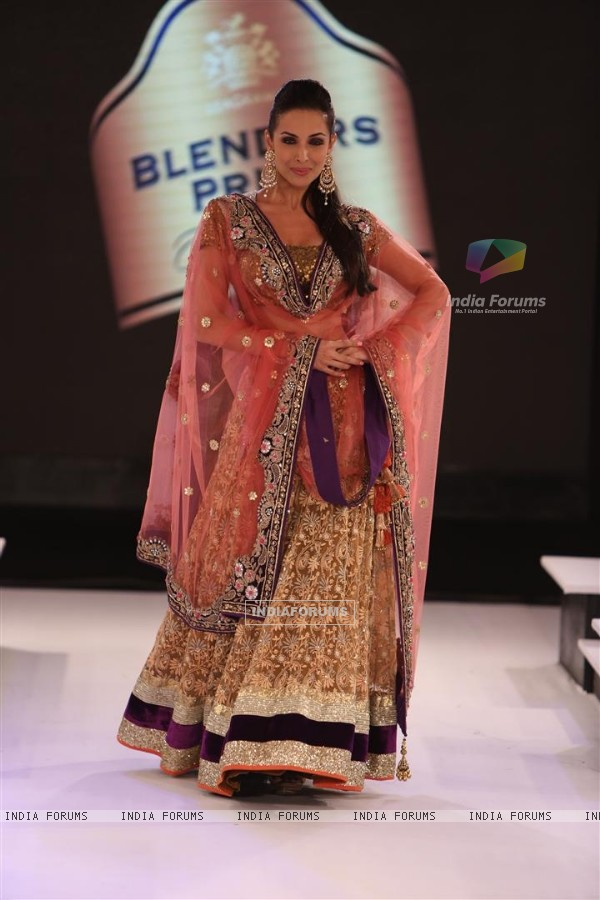 Celebs walk the ramp at Blenders Pride Fashion Tour - Day 1
