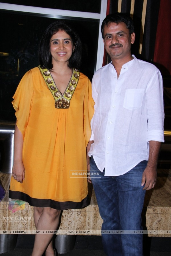 Sonali Kulkarni and Girish Kulkarni at Day 7 of 14th Mumbai Film Festival