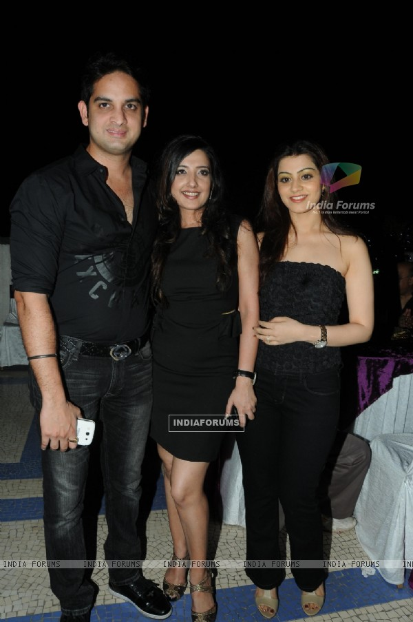 Amy Billimoria with Vikas Kalantri at Amy Billimoria B'Day Bash