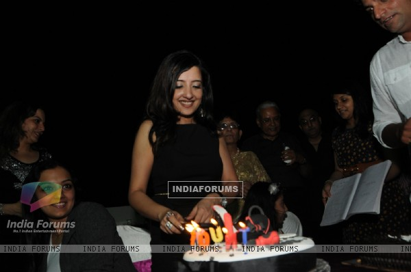 Amy Billimoria B'Day Bash & Dashera Celebration at her home Terrace