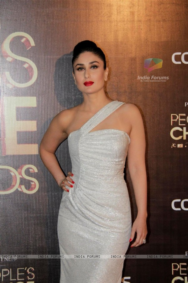Kareena Kapoor at People's Choice Awards.
