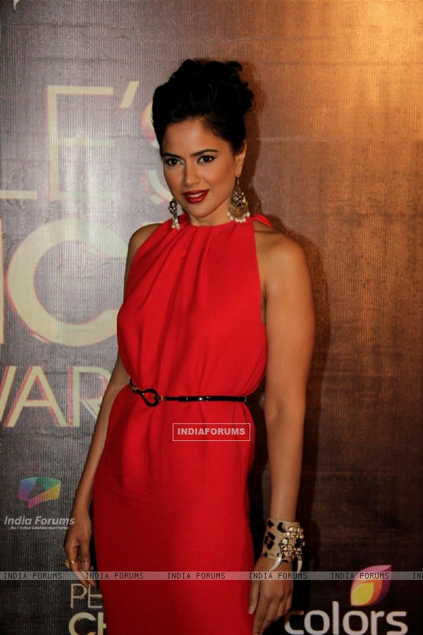 Sameera Reddy at People's Choice Awards.