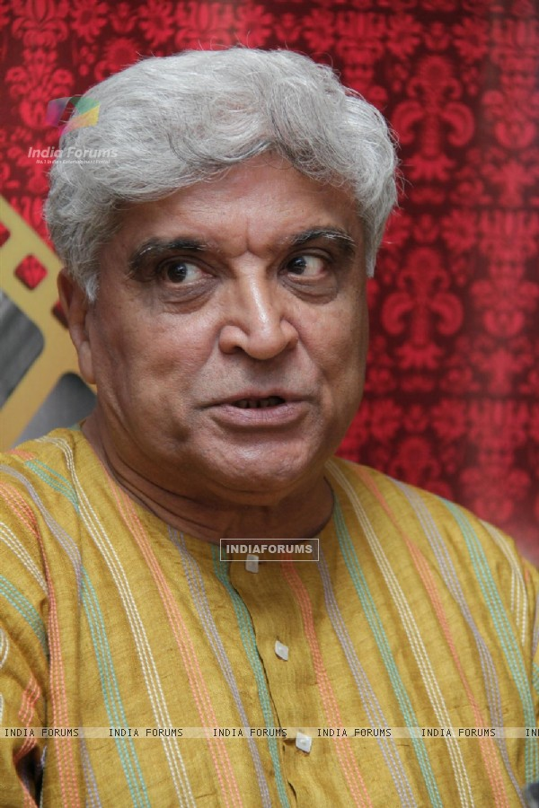 Javed Akhtar gestures during the launch of Classic Legends Season 2 on Zee Classic