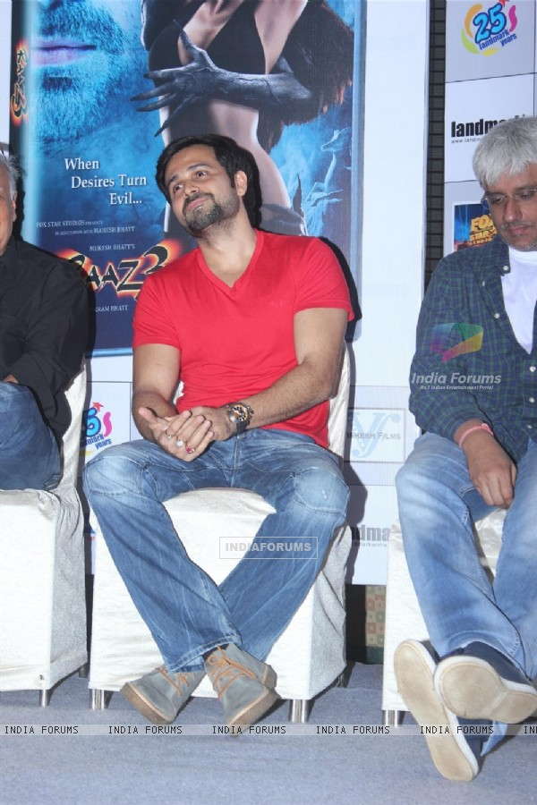 Emraan Hashmi at the launch of film Raaz 3 DVD (237853)