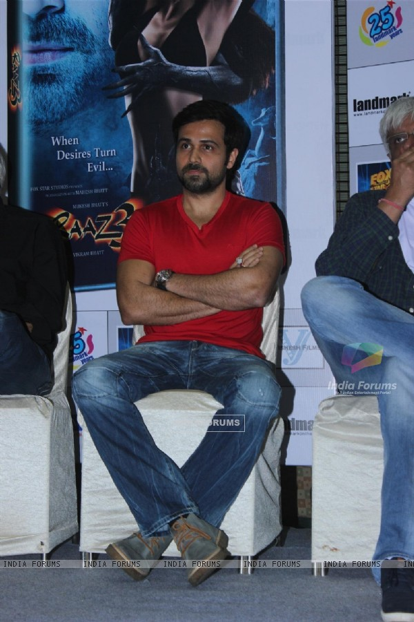 Emraan Hashmi at the launch of film Raaz 3 DVD (237859)