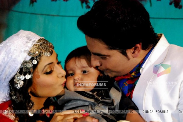 Naitik and Akshara with Naksh