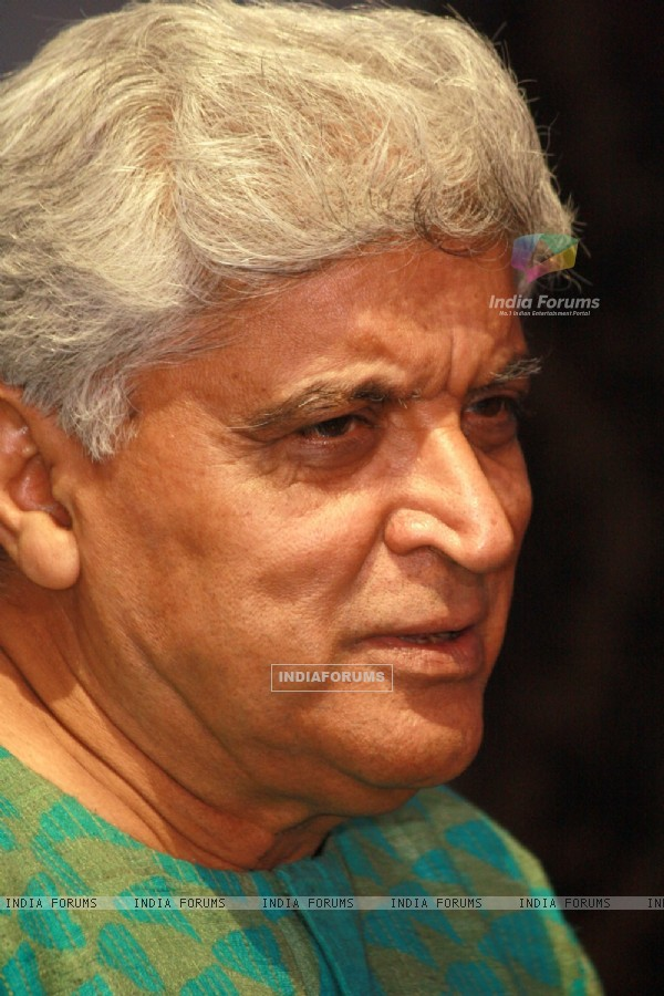 Lyricist Javed Akhtar at the press conference for the Zee Classic's series 'Classic Legends Season 2'