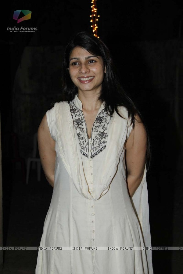 Tanisha mukherjee at film Son of Sardar Special Screening