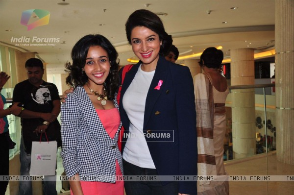 Tisca Chopra at the felicitation ceremony of Breast Cancer Patients at the iDiva Heroes Project function