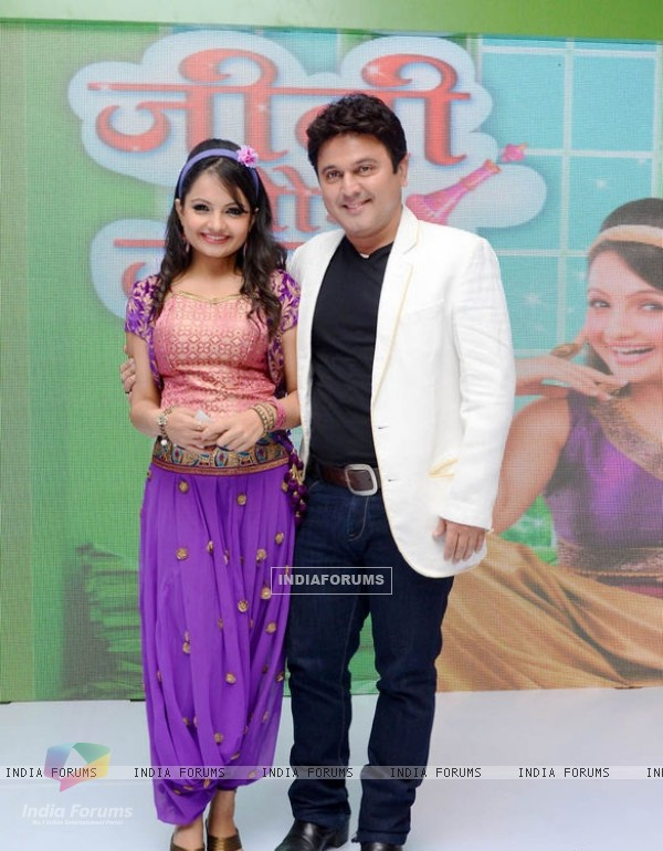 Giaa Manek and Ali Asgar at 'Jeannie Aur Juju' launch event