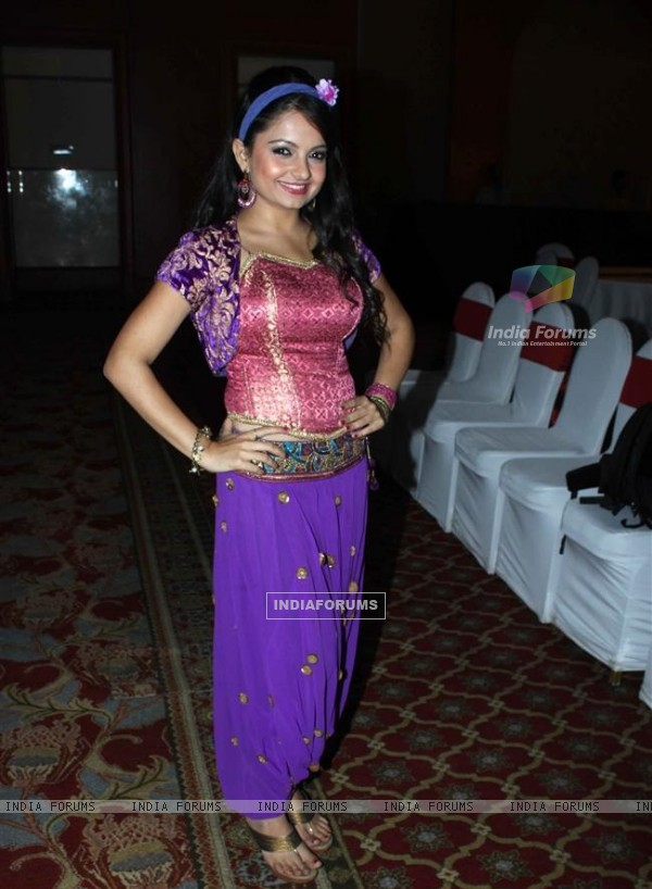Giaa Manek backstage at 'Jeannie Aur Juju' launch event